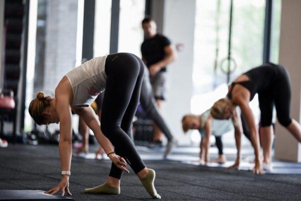 raumenų tempimas