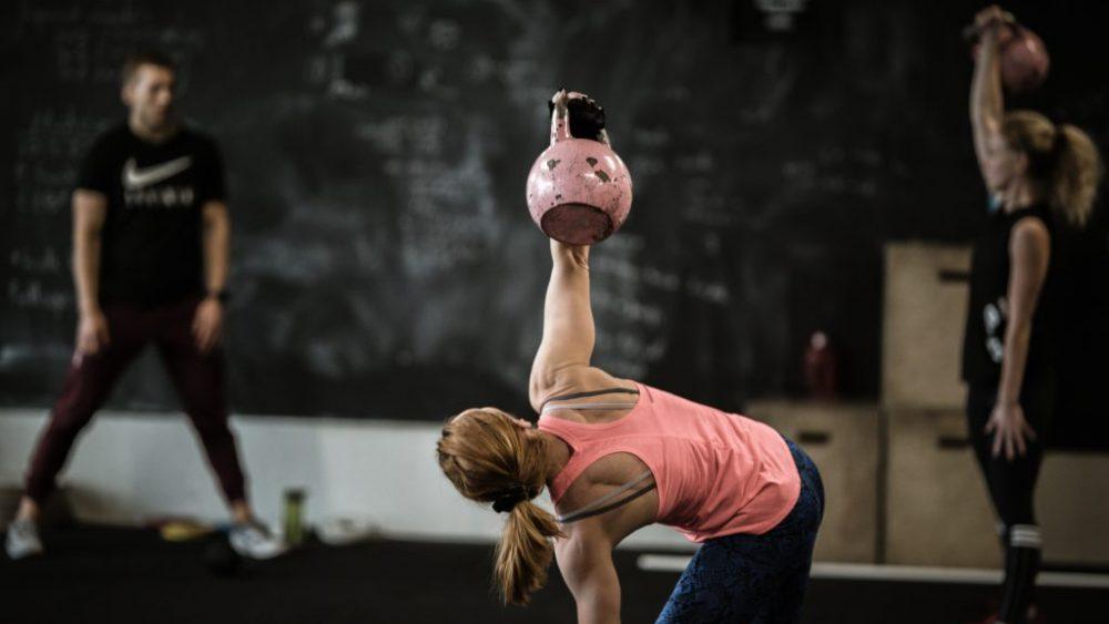 Amber CrossFit treniruotes